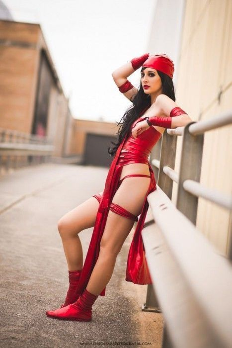 Ivy cosplay Elektra marvel