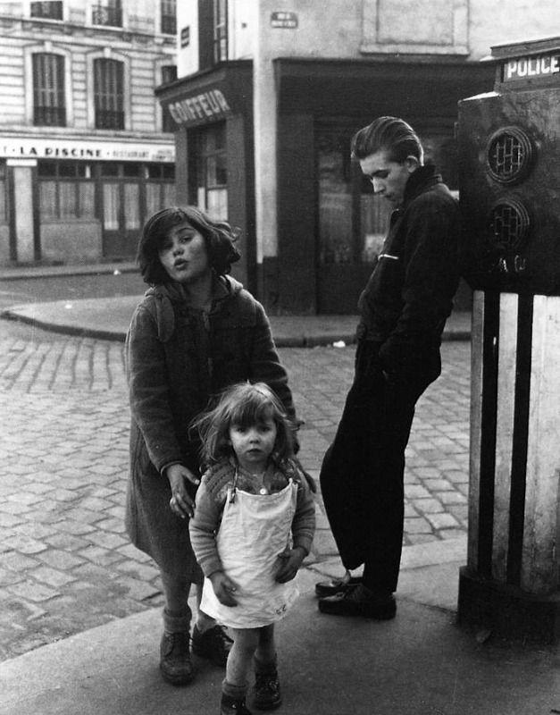 Los niños de Place Hérbert © Robert Doisneau, París, 1957